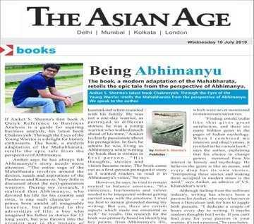 CHAKRAVYUH:Through the Eyes of the Young Warrior - The Asian Age