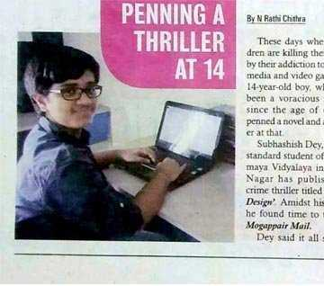 Penning a Thriller at 14
